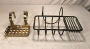 Antique Brass And Nickel Plated Brass Soap Holders S Sternag And Co New York C 1900