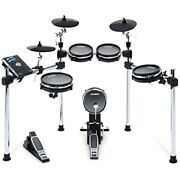Electronic Drum With Mesh Heads, Chrome Rack, Command Drum, 70 Kits Free Ship