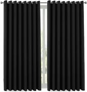Extra Long And Wide Blackout Curtains, Thermal Insulated Premium Privacy Room Di