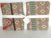 Pottery Barn Harlow Quilt Full/queen Hand Quilted Bohemian New Sold Out At Pb