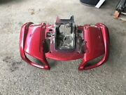 Yamaha Grizzly 660 Red Front Fender