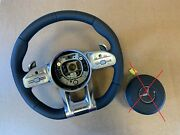Mercedes S Class W217 C217 W222 C222 Amg Steering Wheel Distronic Leather Air