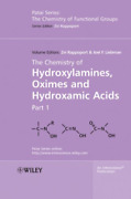 Rappoport-chemistry Of Hydroxylamines 2vs Uk Import Bookh New