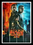 Blade Runner 2049 - Harrison Ford - Original French Movie Poster 47x63 In