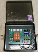 Bauer Water Softner Control/circuit Board Rev 6 Twin Logic With Mating Cables