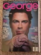 George Rare Collectible September 1999, Rob Lowe Cover, Like New