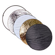 5in1 60/80/110cm Collapsible Photography Studio Panel Light Reflector Diffuser