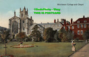 R336472 Winchester College And Chapel. 4069x. Valentines Series