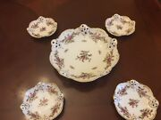 Rosenthal Moliere Moss Rose Set Nut Dishes Set Of 5