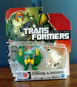 Transformers Generations G1 Colors Cosmos And Payload Thrilling 30 30th Mosc Rare