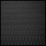 3 Sheets Hydro-turf 45 X 86 Molded Diamond Black With 3m Backing Sht86md