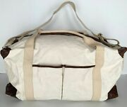 Pottery Barn Union Canvas Weekender Large Bag Natural Sold Out At Pottery Barn