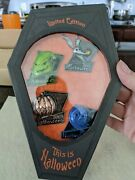 Disney's Nightmare Before Christmas This Is Halloween 2013 Box Set Pins Le 1000