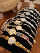 Lot Of Vintage Ladies Watches Gold Silver Two-tone Waltham