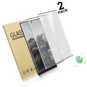 [2-pack] For Galaxy Note 10 Plus Screen Protector Tempered Glass