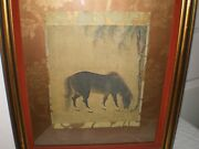 John Richard Collection Horse Stallion By Willow Tree 15c Ming Dynasty Print