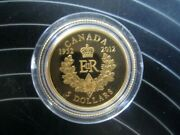 5 1/10 Oz Gold Coin The Queenand039s Diamond Jubilee. Year 2012 Proof 1952-2012