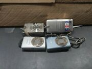 Lot Of 4 Canon Digital Cameras Ixus 9515, S110, Sd1200 Is, Power S60 - 6120