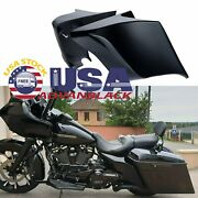 Vivid Black Stretched Extended Side Cover Panel For Harley Street Road Glide 14+