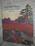 1991 Crazy Quilt Odyssey Victorian Needlework Book Chatelaine Purses Lots More