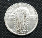 1930 Standing Liberty Quarter | Choice Almost Uncirculated Au+