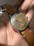 1960andrsquos Vintage Tropical Gilt Omega Seamaster Swiss Made 268 Watch Watches Steel