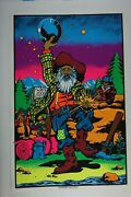 1971 Seattle Aa Sales Serigraph Vintage Poster Klondike Discovery Gold Rush