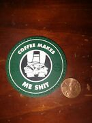 Shot Show Morale Patch Coffee Makes Me