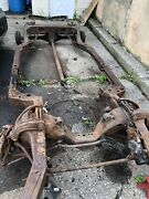 1970-72 Monte Carlo Frame 10 Bolt Rear And Front Disc Brakes