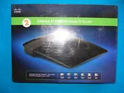 Linksys E1200 300 Mbps 4-port 10/100 Wireless N Router / Brand New In Box