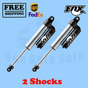 Fox Shocks Kit 2 Rear 0-1 Lift Fits Chevrolet Silverado 3500 2001-06