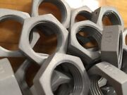 Aluminum Treated Hex Nut Mil Spec Ms9200-10 E12 Nos Made In Usa .875-14unf-3b