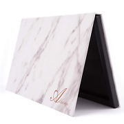 Allwon Magnetic Palette Marble Empty Makeup Palette With Mirror For Eyeshadow Li