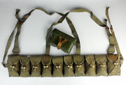 Vietnam War Chinese Army Type 56 Sks Ammo Pouch Chest Rig Type 56 Ammo Pack Bag