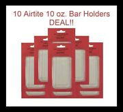 10 Airtite Holders Direct Fit For 10 Oz. Silver Bar Quality Safe Storage Display