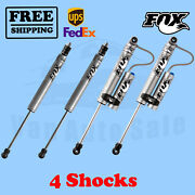 Fox Fr 4-5 And R 4.5-5.5 Lift Shocks For Ford F450 Cab Chassis/utility 2005-07