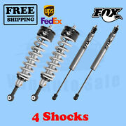 Fox Shocks Kit 4 Front 0-2 And Rear 0-1 Lift For Toyota Tacoma 4wd 2005-2020