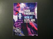 Pabst Blue Ribbon Pbr Extra Cooler 5x7 Sticker Decal Craft Beer Brewery Brewing