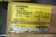 New Square D Bus Plug Phd36060gn 60 Amp Breaker Type 600v 3p 4w I Line Busway