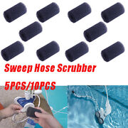 5/10 Pack For Polaris 180 280 360 380 Pool Cleaner Sweep Hose Tail Scrubber Mp