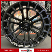 20x9 Fuel Heater Offroad On 33/12.50r20 Satin Black Wheels With Off-road Tires
