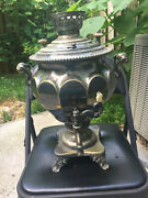Russian Antique Silver Plated Samovar, Norblin Factory