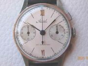 Arval Old Chronograph Angelus Cal.215 Vintage Watch 1940and039s