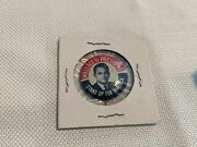 Vintage Antique Pin Back Button Wallace For President C-fs