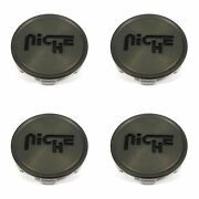 4 Niche Dark Tint/brown Center Caps 2.95/2-15/16 M214 Form Vicenza M152