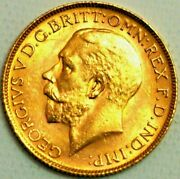 South Africa Gold Sovereign 1928 Sa Mint George V Km 21 R417-l