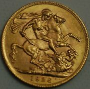 South Africa Gold Sovereign 1928 Sa Mint George V Km 21 R549-l