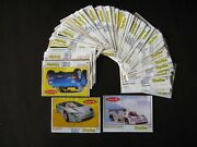 Vintage Bubble Chewing Gum Wrappers Turbo 261-330 Thick Frame - Full Set