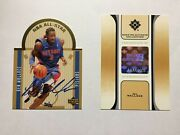 2003-04 Ultimate Collection Die Cut All Star Ben Wallace Se10 Auto Bb-bw- 20/21