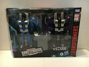 Transformers Earthrise Seekers Skywarp And Thundercracker Target Exclusive